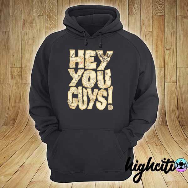 Hey you in the black s hoodie