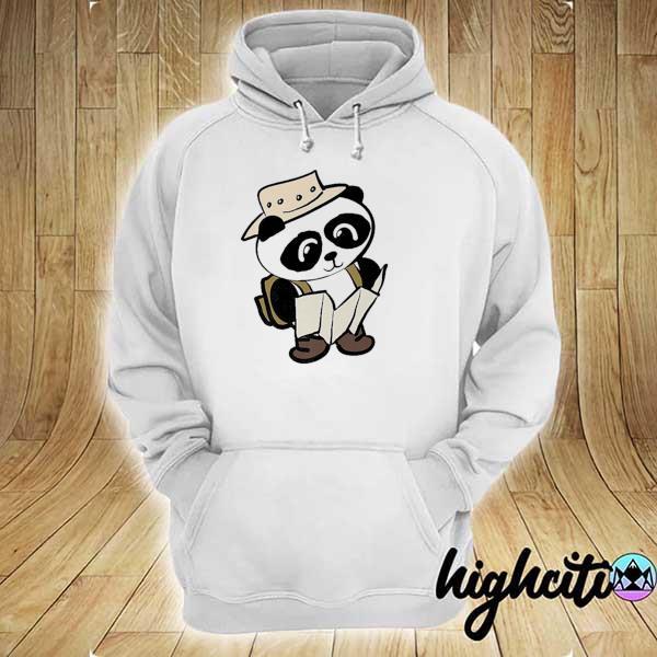 Adventure panda hoodie