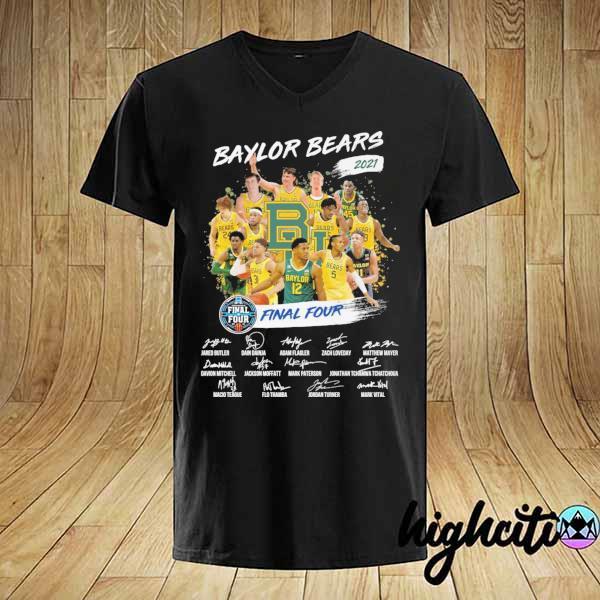 Awesome baylor bears 2021 final four jared butler dain dainja signatures shirt