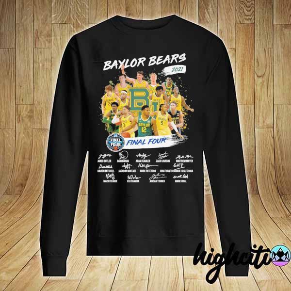 Awesome baylor bears 2021 final four jared butler dain dainja signatures Sweater
