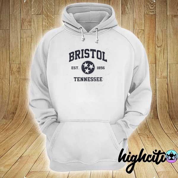 Awesome bristol tennessee tn vintage state athletic hoodie