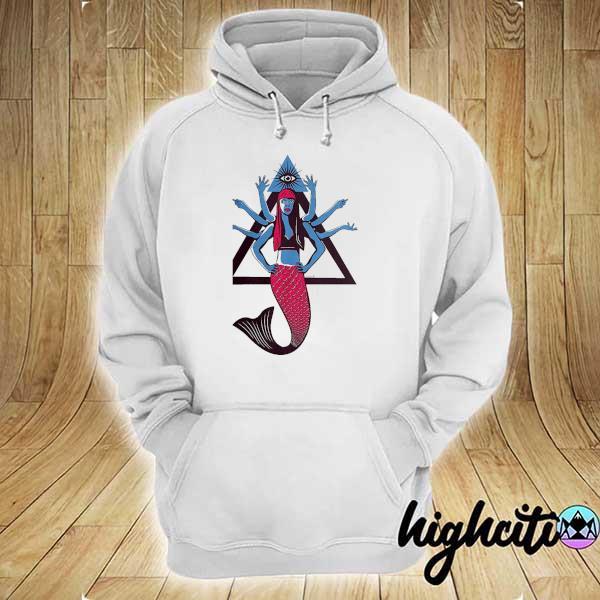Awesome et 8 arms hindu mermaid hoodie