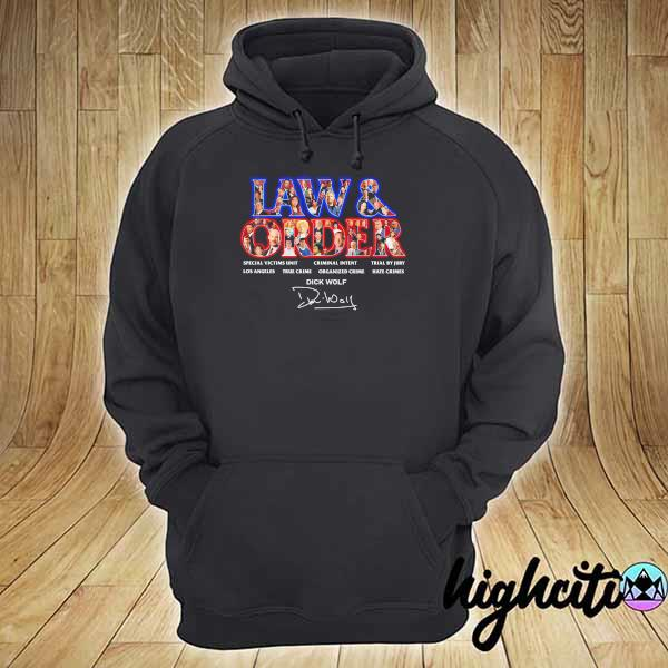 Awesome jaw & order special victims unit criminal intent trial by jury signaute hoodie