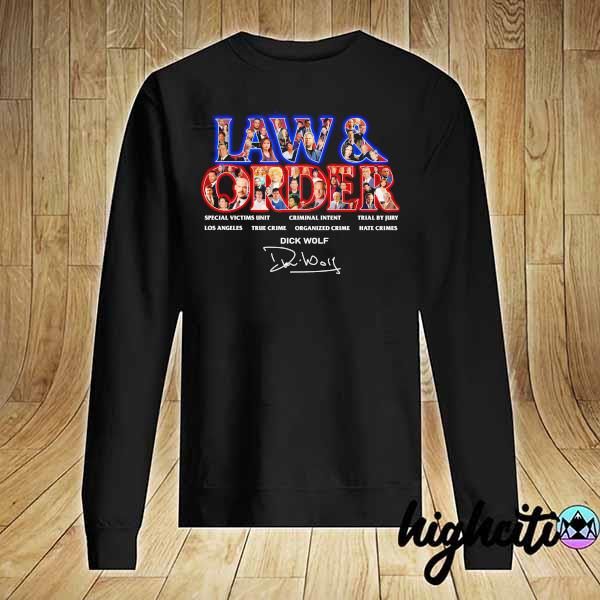 Awesome jaw & order special victims unit criminal intent trial by jury signaute Sweater