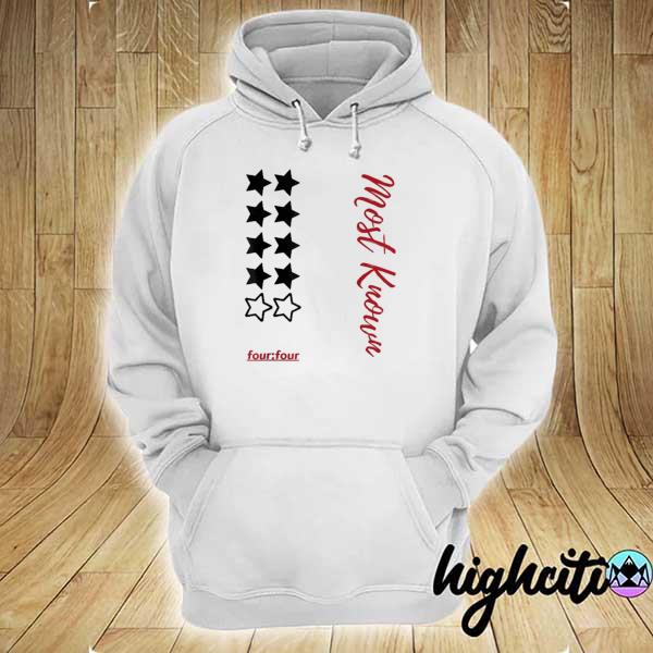 Awesome most known four four hoodie