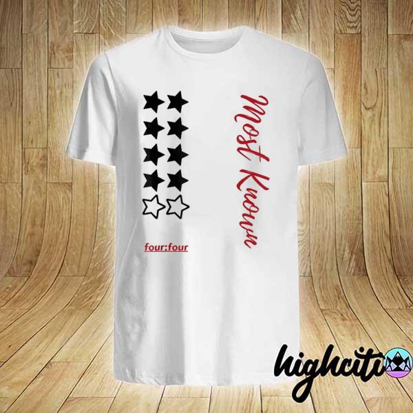 Awesome most known four four shirt