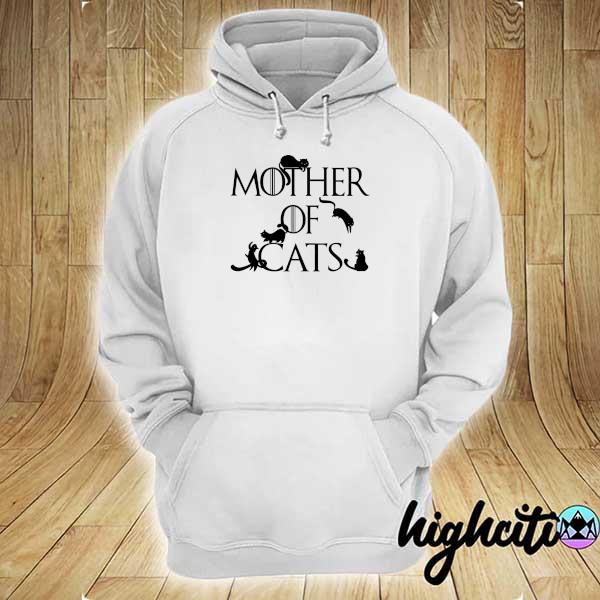 Awesome mother of cats game of thrones hoodie