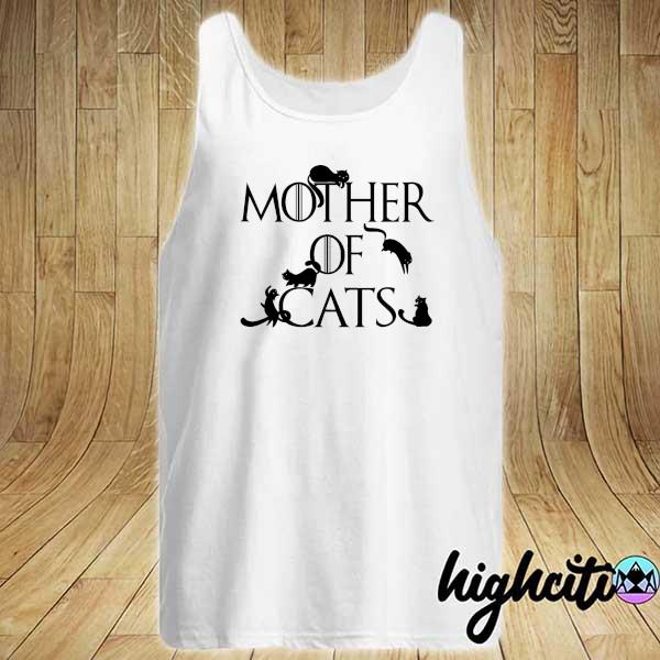Awesome mother of cats game of thrones Tank-top