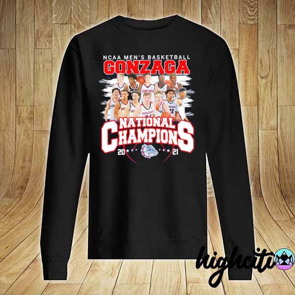 Awesome ncaa men's basketball gonzaga national champions 2021 Sweater