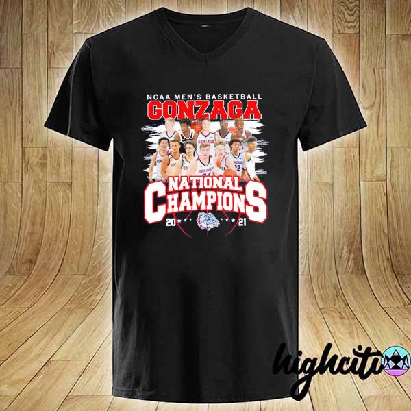 Awesome ncaa men's basketball gonzaga national champions 2021 V-neck