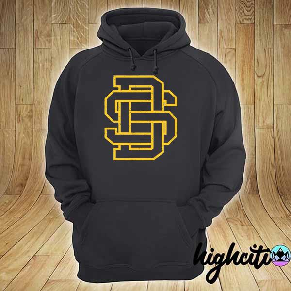Awesome san diego sd home monogram game day padre hoodie