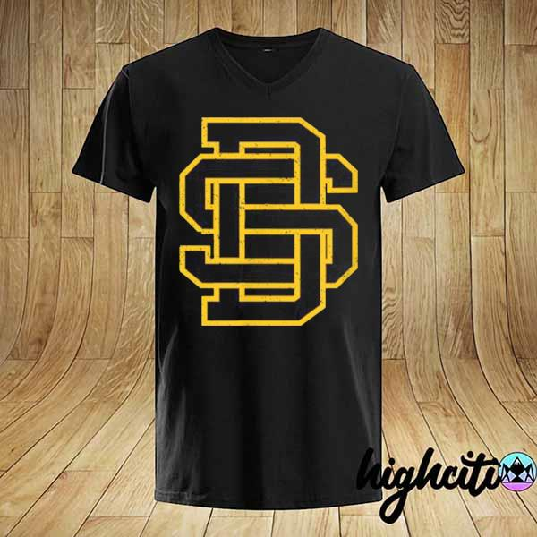 Awesome san diego sd home monogram game day padre shirt