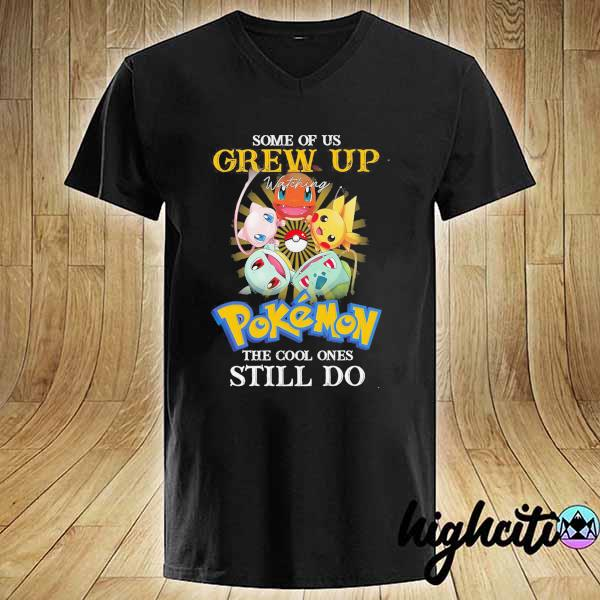 Awesome some of us grew up watching pokemon the cool ones still do V-neck