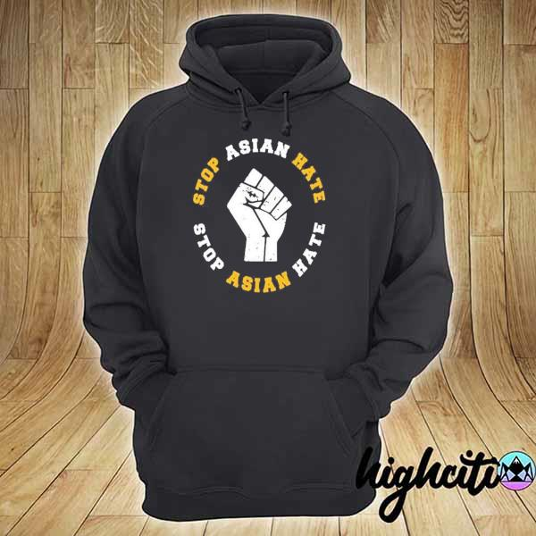 Awesome stop asian hate stop asian hate hoodie