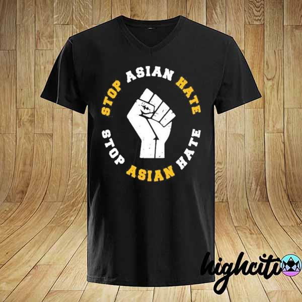 Awesome stop asian hate stop asian hate shirt