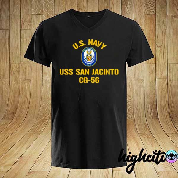 Awesome us navy uss san jacinto cg 56 shirt