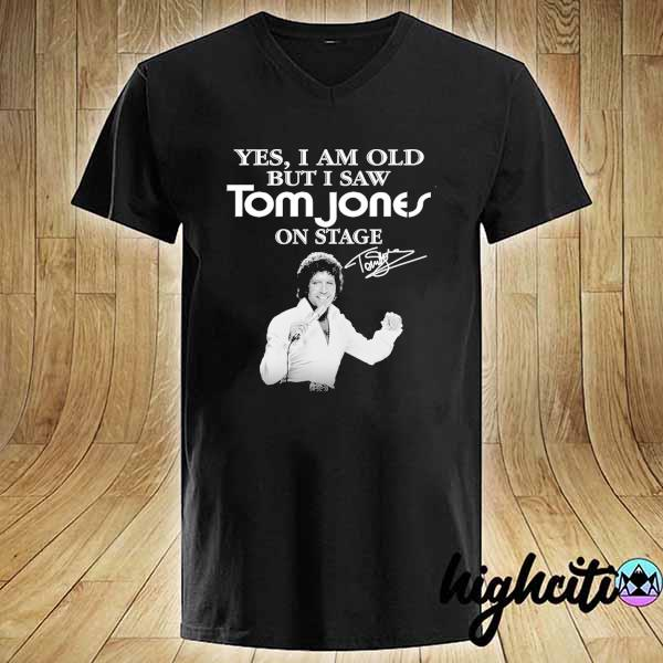 Awesome yes i am old but i saw tom jones on stage signature V-neck