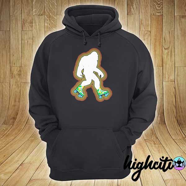 Bigfoot Skates Sasquatch Shirt hoodie