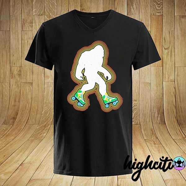 Bigfoot Skates Sasquatch Shirt