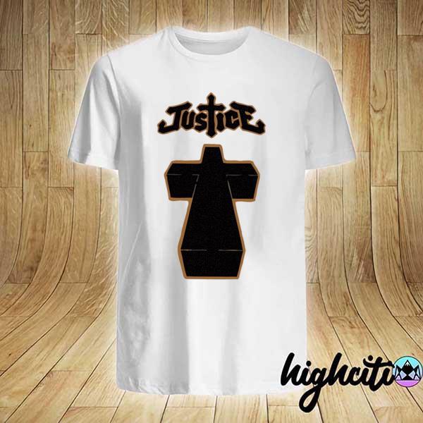 Justice cross album cover shirt