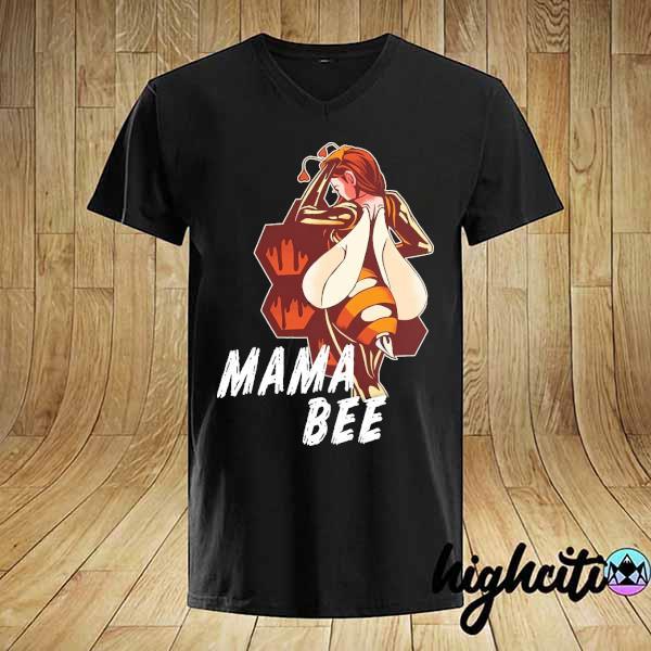 Mama bee king girl shirt