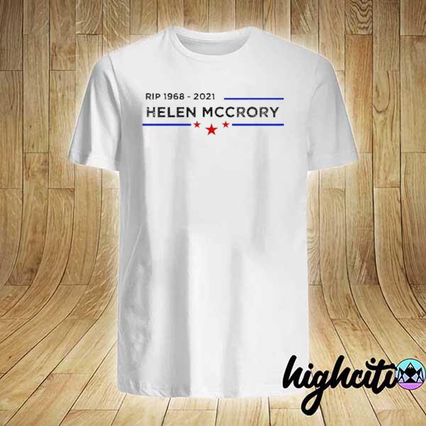 Rip 1968 2021 Helena Mccrory Stars Blue Line Shirt