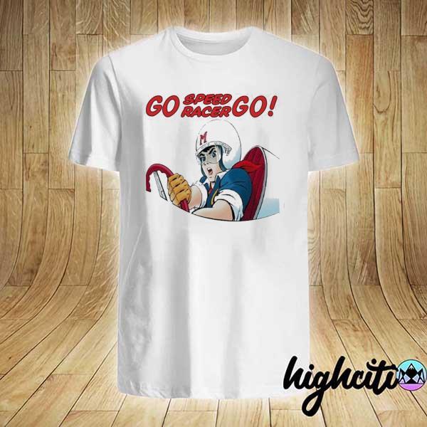 Speed racer super rare 0608 speed racer go speed racer shirt