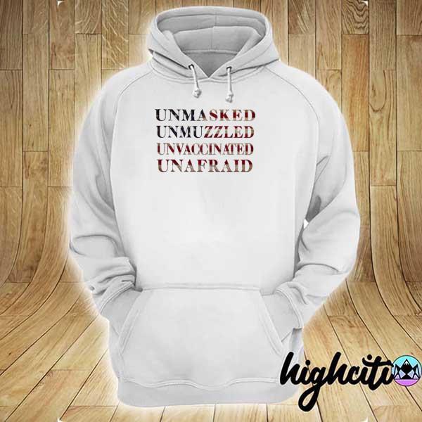 Unafraid American Shirt hoodie