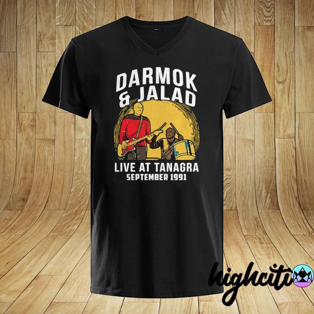 Darmok and Jalad at tanagra september 1991 Unisex Black Shirt