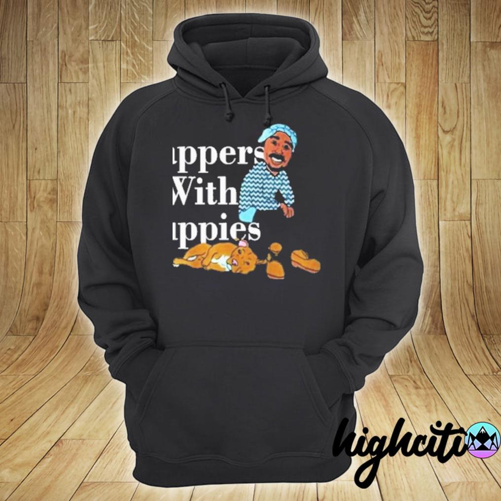 Rappers With Puppies Official T-Shirt hoodie