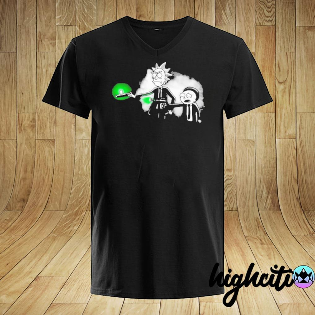 Rick And Morty Mib T-shirt.