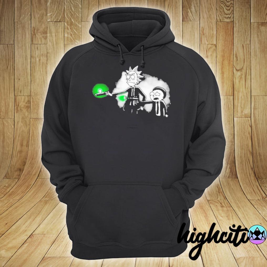 Rick And Morty Mib T-shirt. hoodie