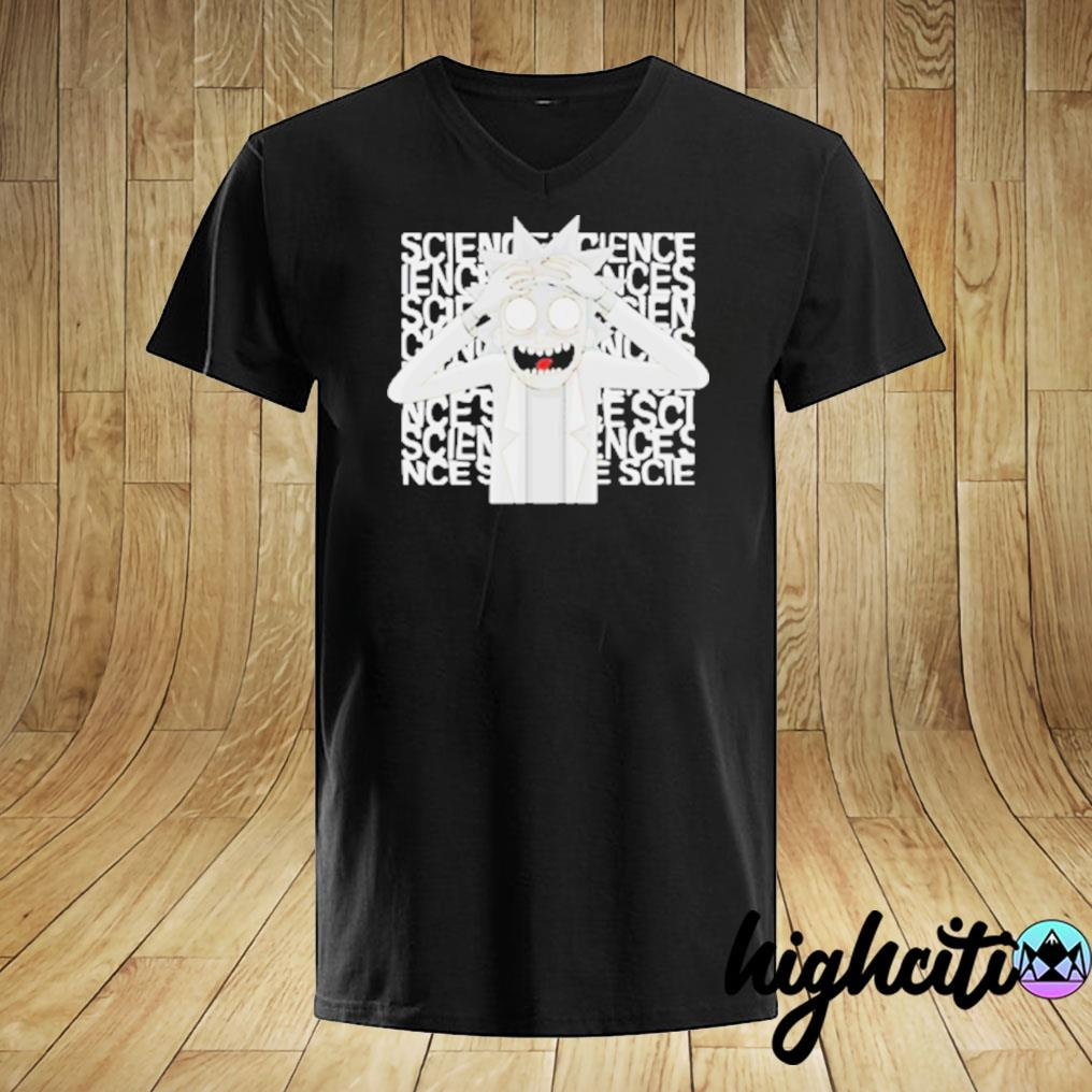 Rick Morty Science T-shirt