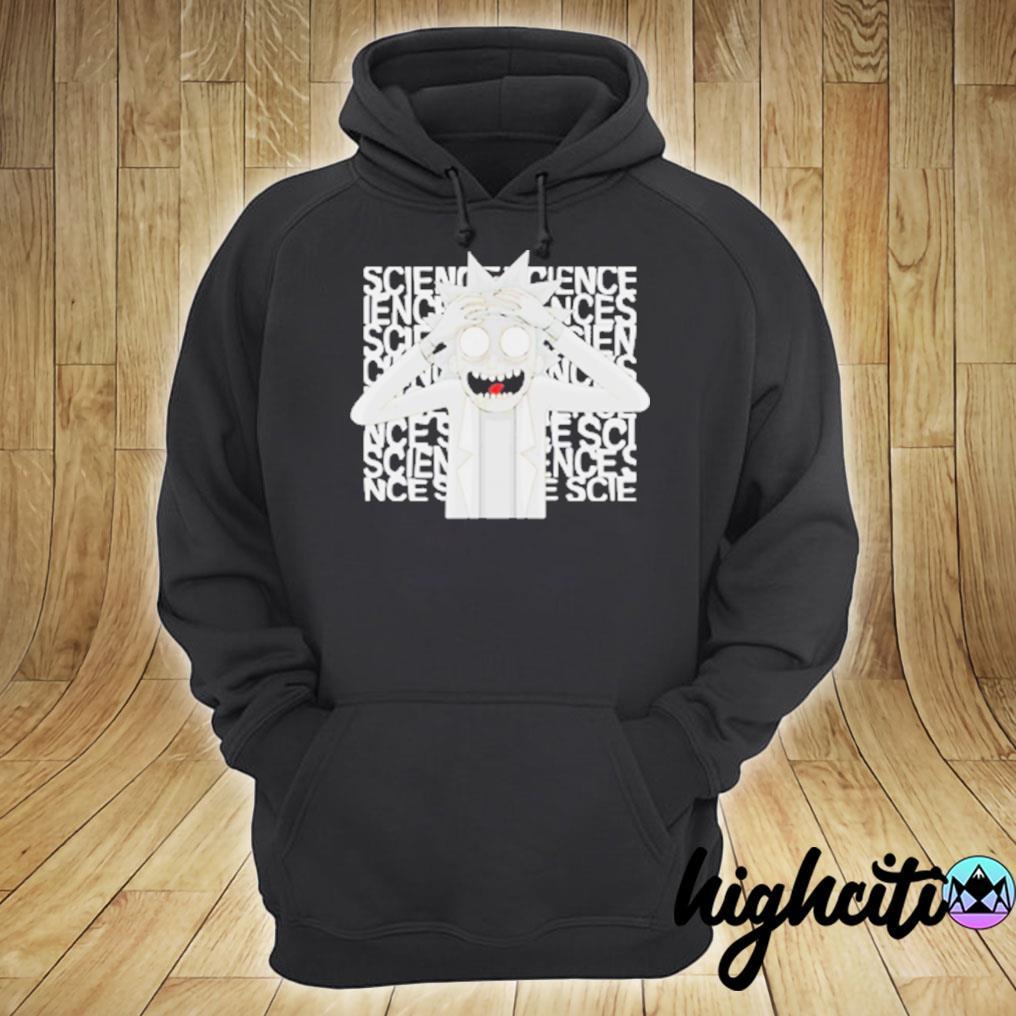 Rick Morty Science T-s hoodie