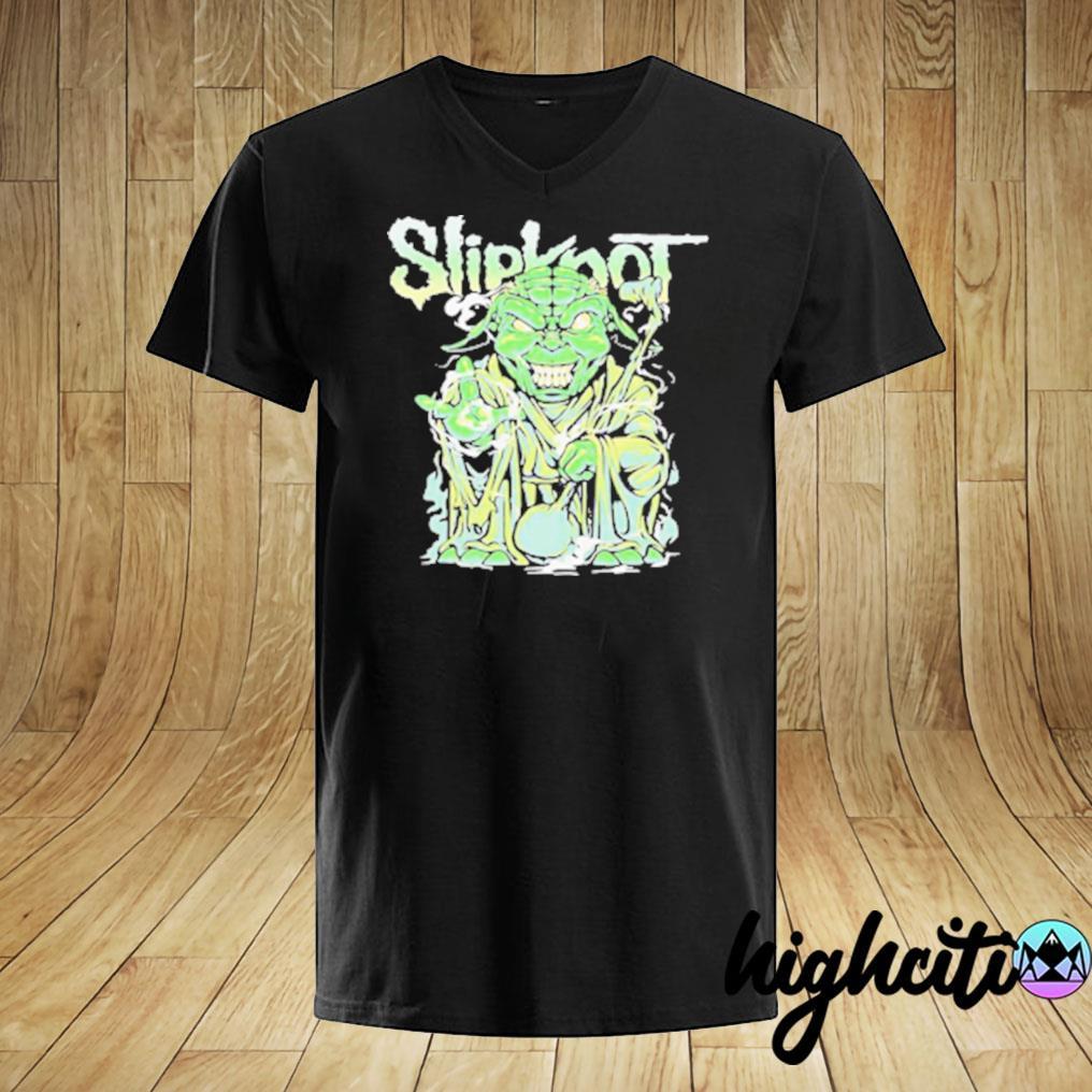 Star Wars Master Yoda Slipknot T-shirt