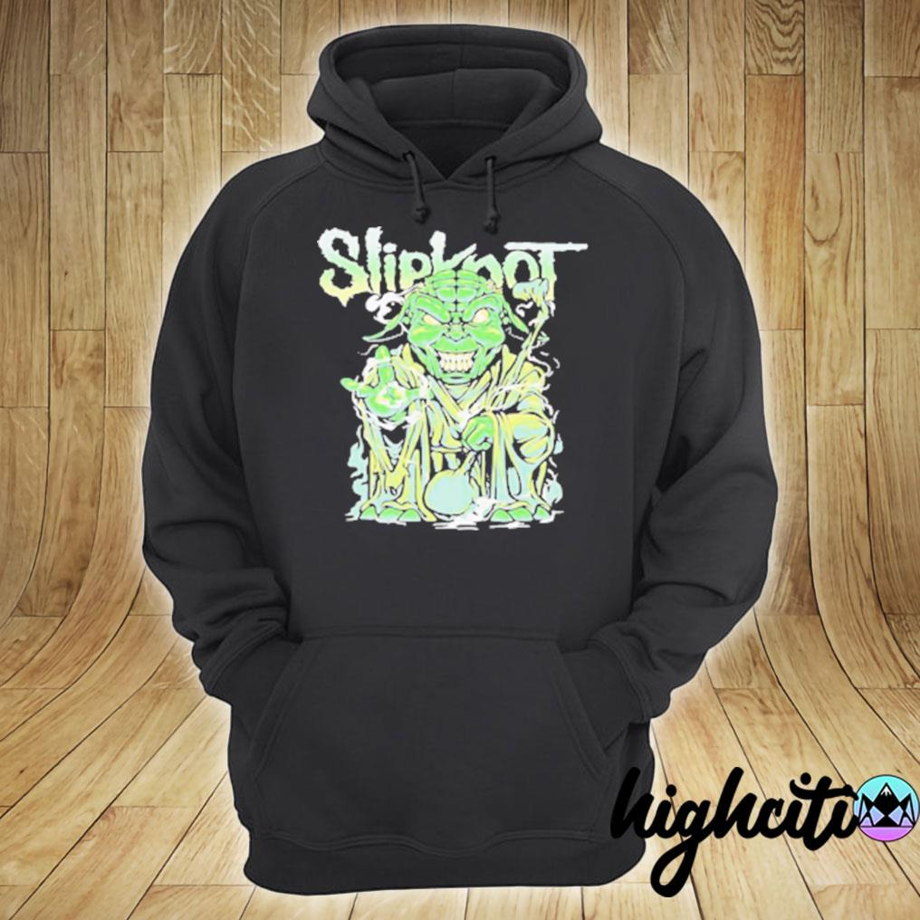 Star Wars Master Yoda Slipknot T-s hoodie