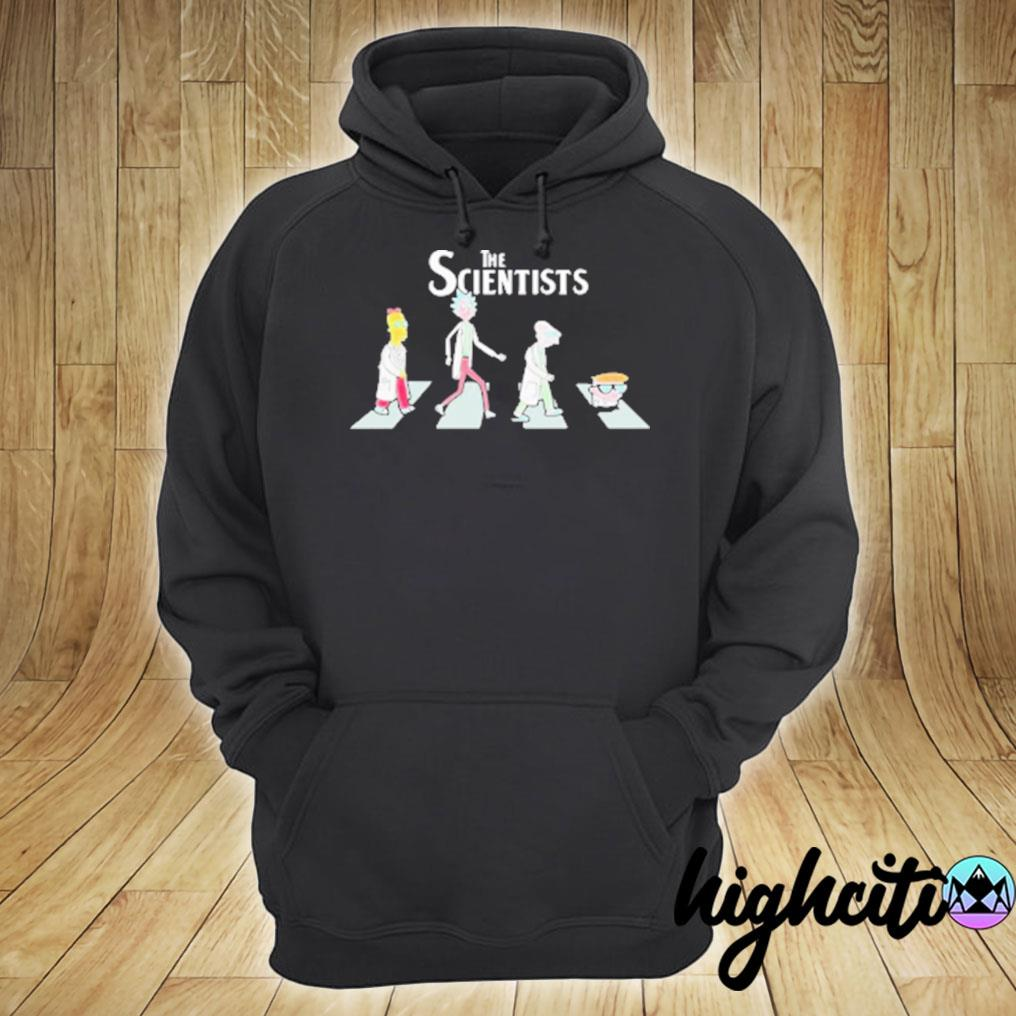 The Scientists Cartoon Abbey Road T-s hoodie