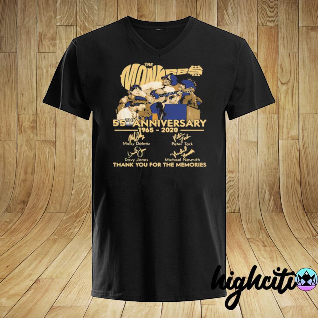 Tnt The Monkees 55 Years Anniversary 1965 – 2020 T-shirt