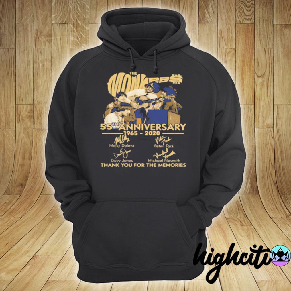 Tnt The Monkees 55 Years Anniversary 1965 – 2020 T-s hoodie