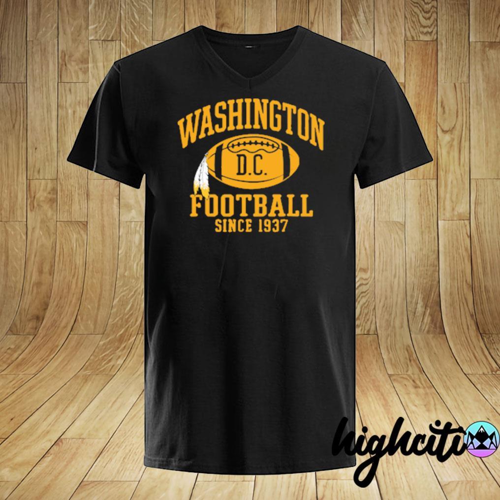 Washington Football Dc Since 1937 T-shirt