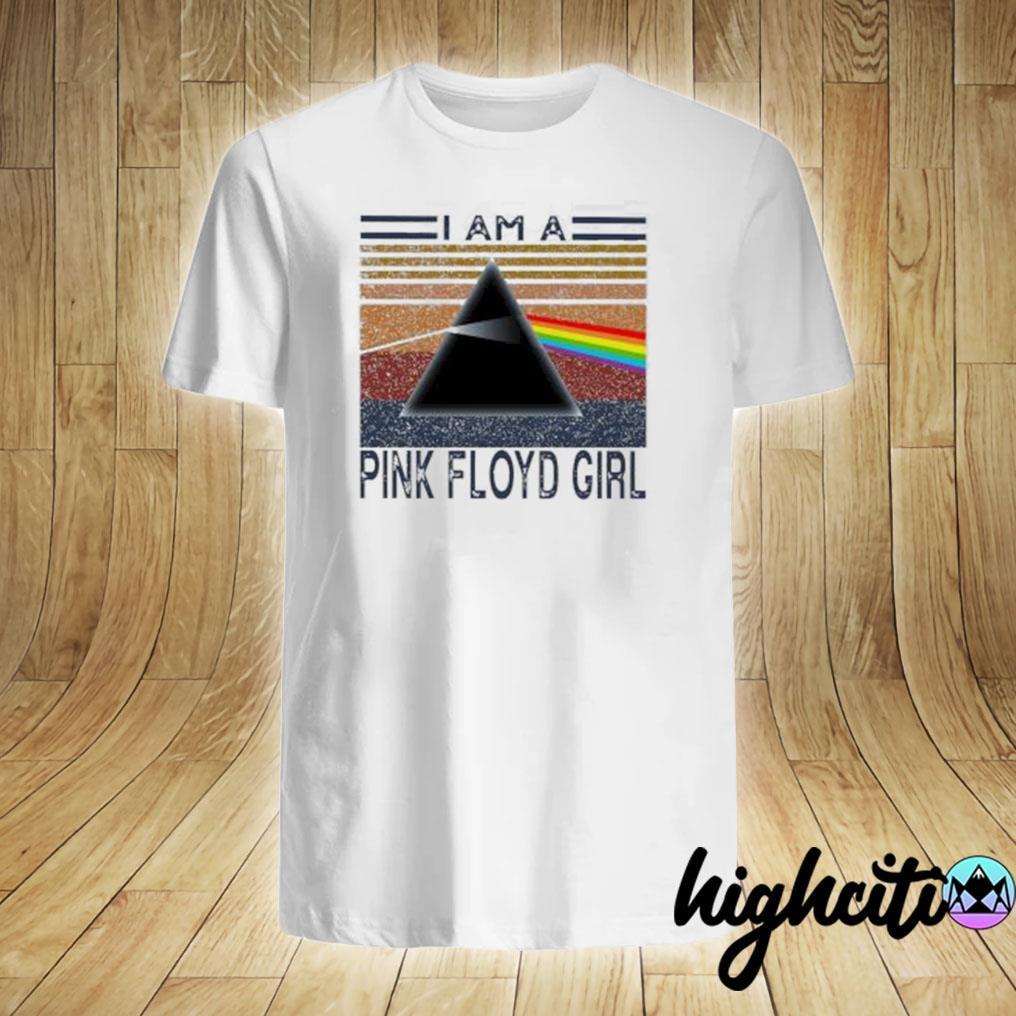 I am a Pink Floyd girl vintage shirt