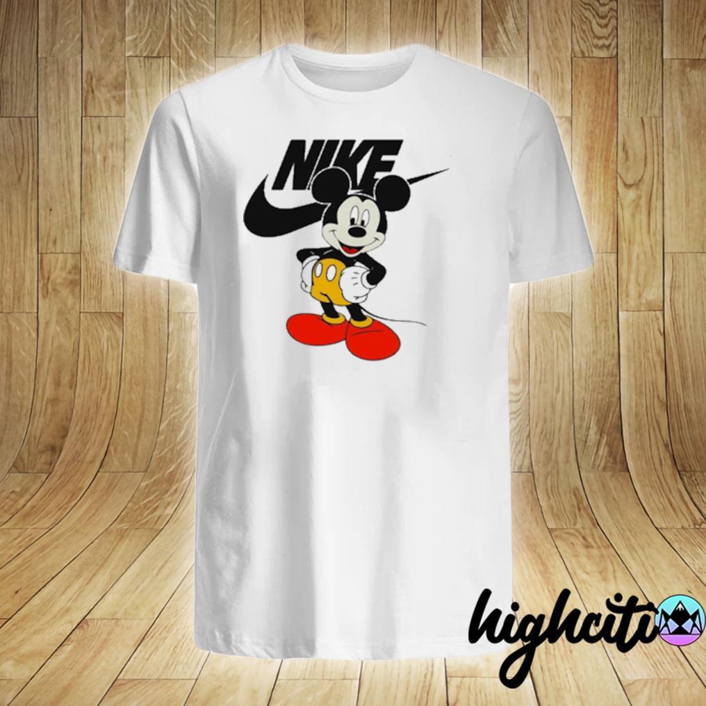 Mickey Mouse Nike Logo T-shirt