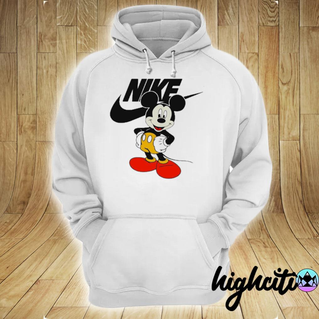Mickey Mouse Nike Logo T-s hoodie