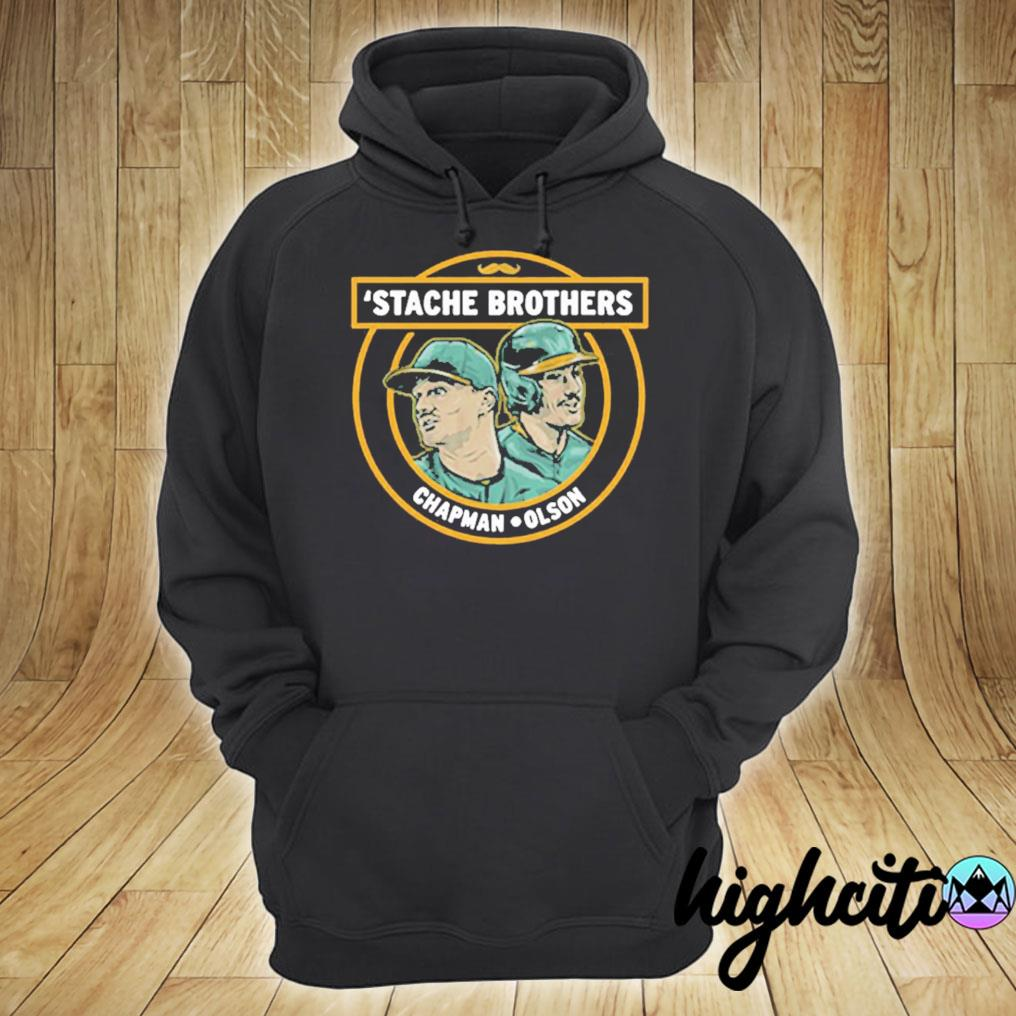 'Stache Brothers Matt Chapman and Matt Olson Shirt hoodie