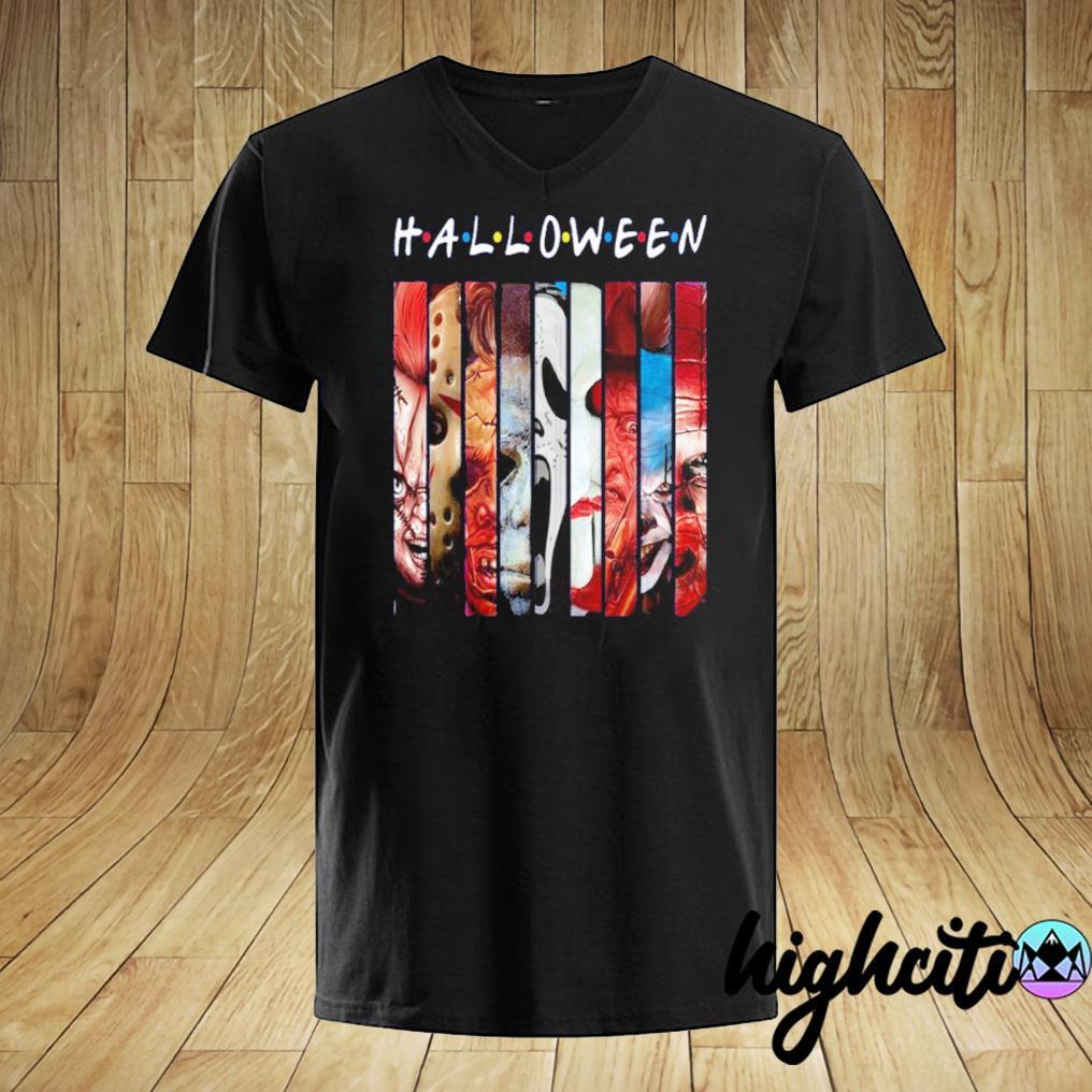 Halloween 2020 T-Shirt Halloween Horror Theme Friends T Shirt, Halloween Friends T Shirt