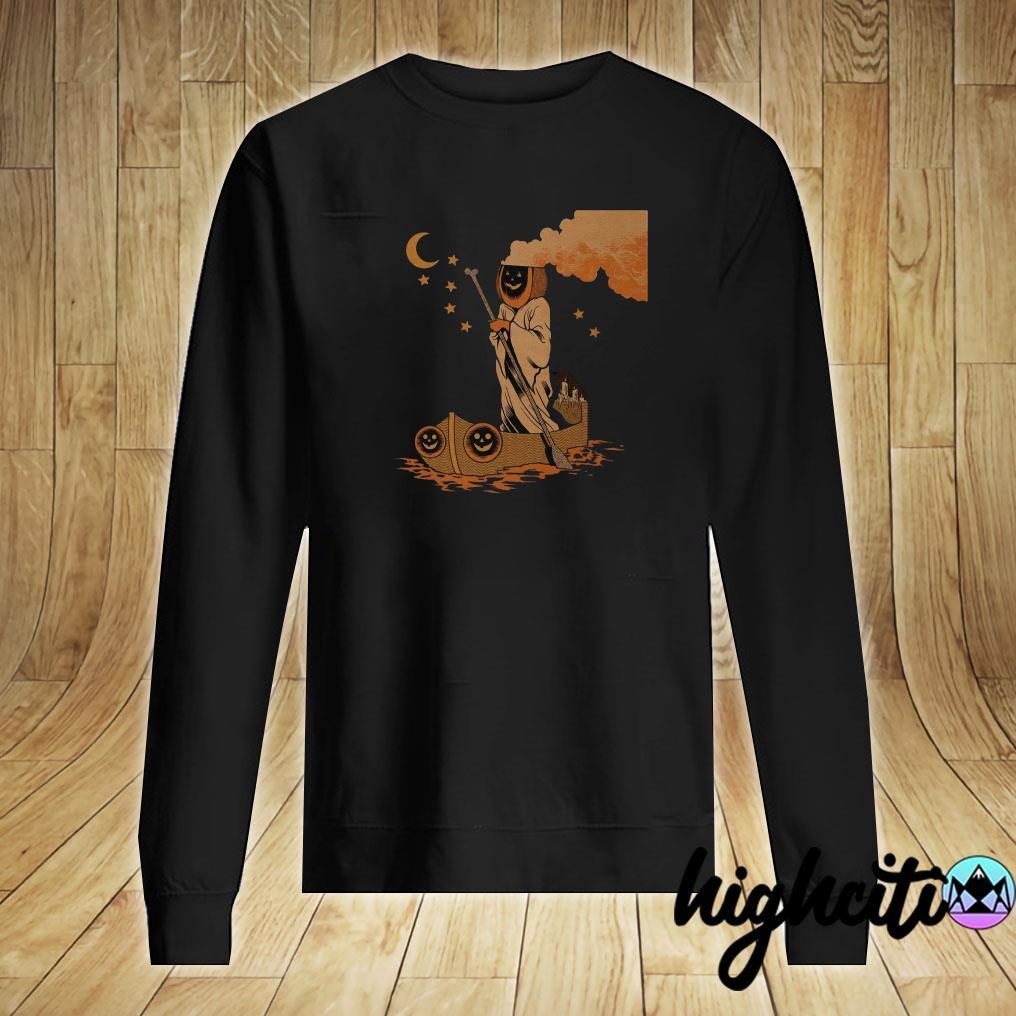 'Pumpkin Ferryman' Shirt Sweater