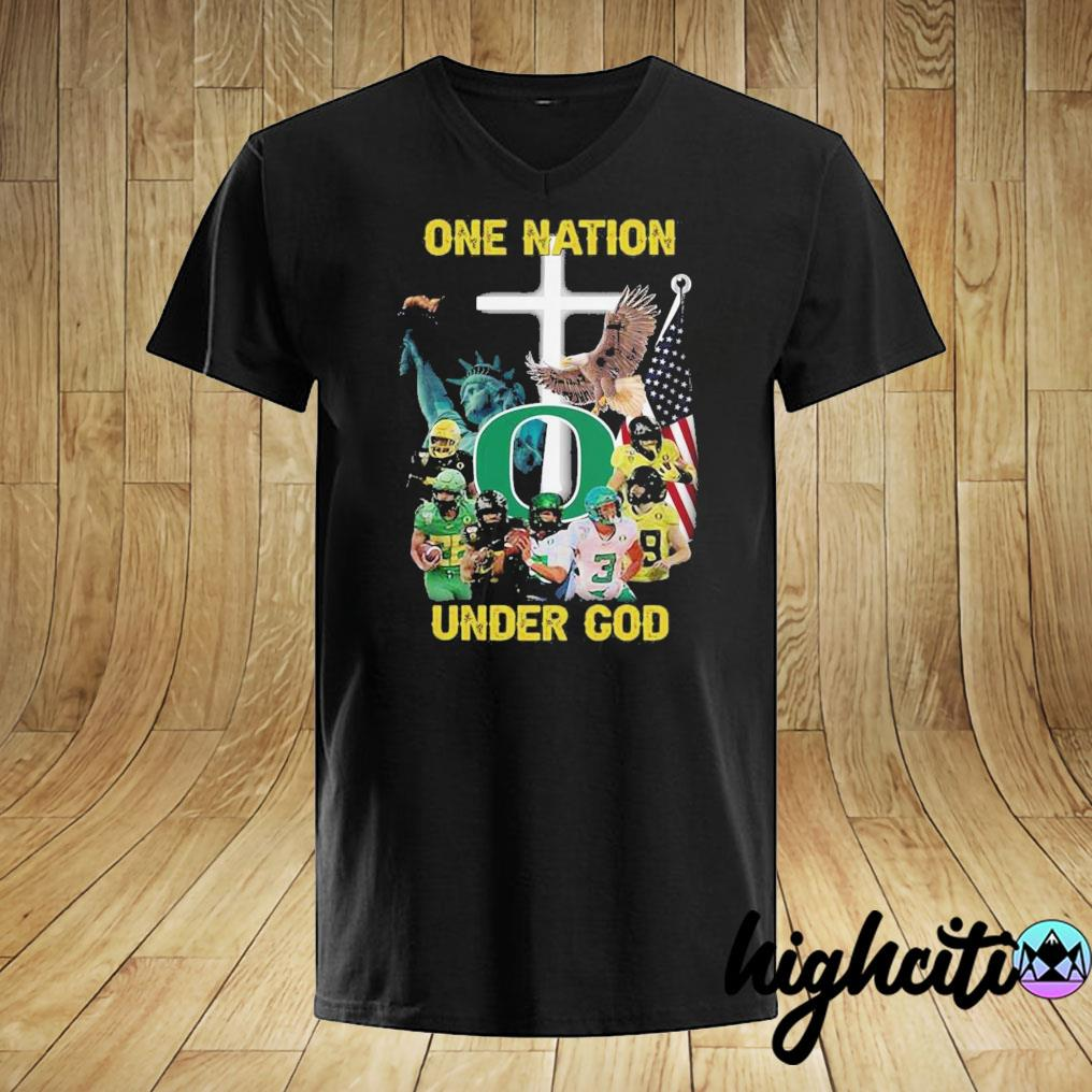 Oregon Ducks One Nation Under God Shirt