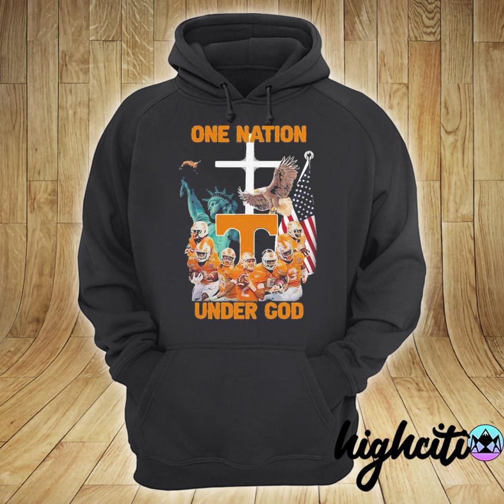 Tennessee Volunteers One Nation Under God Shirt hoodie