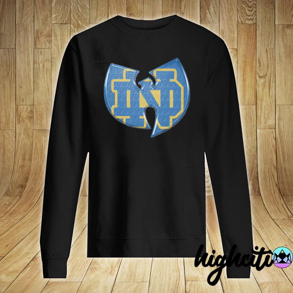 Wutan Notre Dame Fighting Irish Shirt Sweater