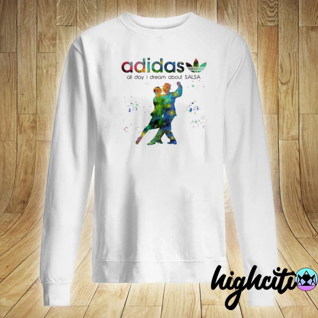 Official Adidas All Day I Dream About Salsa Shirt Sweater